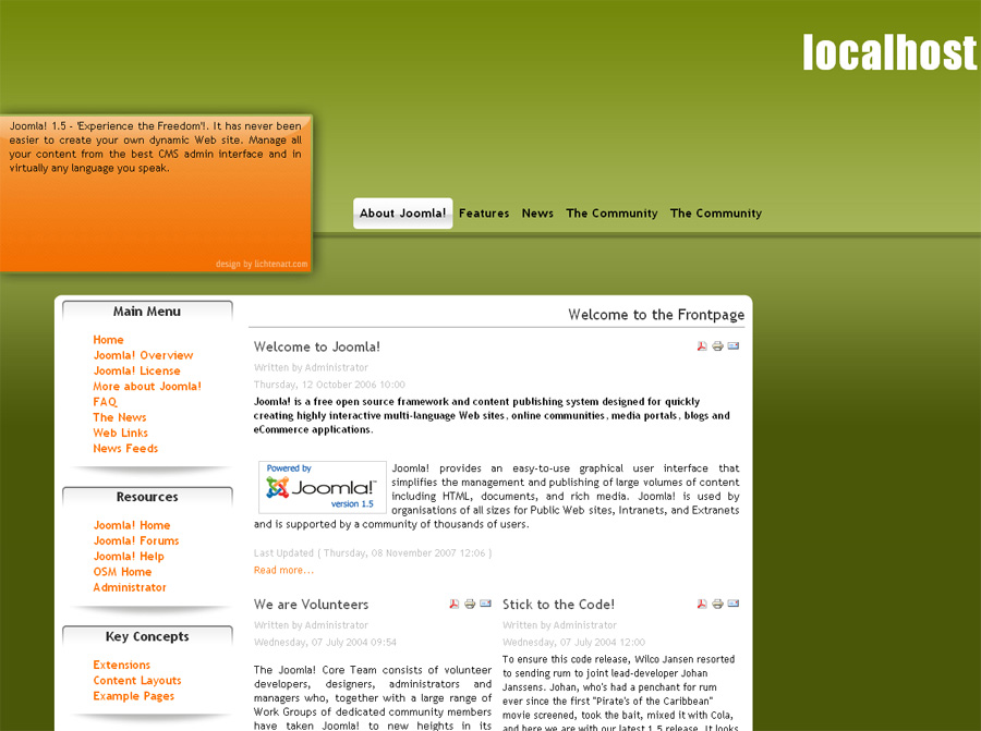 search free adult site template joomla